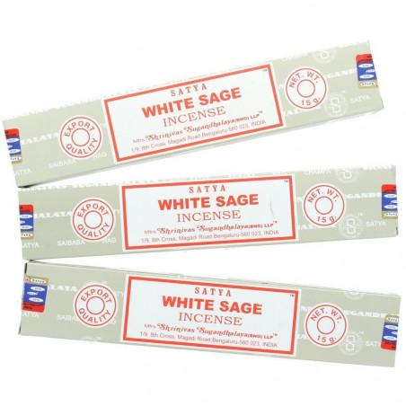 Incense Satya White Sage