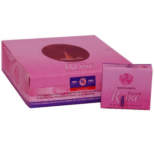Nag Champa Fresh rose - Incense Cones