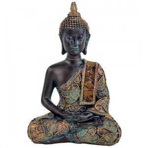Medytujący Budda z Tajlandii 15cm