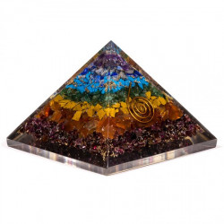Orgone Pyramid - 7 chakras