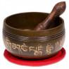 Misa Tybetańska Zestaw Grawerowany - czerwony 180g