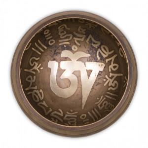 Misa Tybetańska Zestaw Grawerowany - czarna 300g