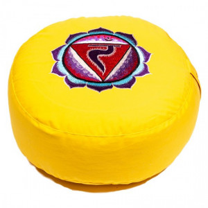 Meditation cushion - 3rd chakra (yellow)