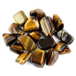 Tigereye tumblestones - 2-2,5cm