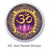 Naklejka symbol OM Namah Shivaya