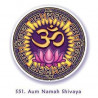 "Window Sticker ""Ohm Namah Shivaya"""