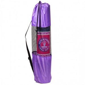 Cover - Bag for yoga mat - Purple