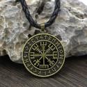 Amulet Kompas Wikingów (Pozłacany)