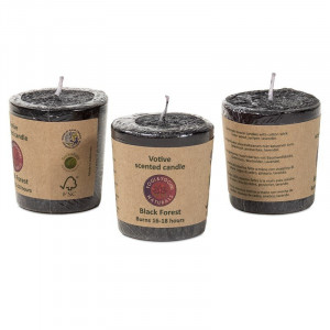 Candle - Black Forest - essential oils 4 cm
