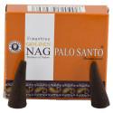 Golden Nag Palo Santo - Kadzidełka Stożkowe