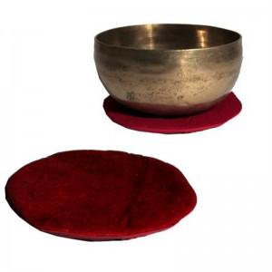 Płaska Okrągła Poduszka Pod Misy Tybetańsie 15cm