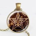 Naszyjnik Pentagram