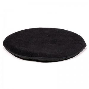 Flat Round Cushion For Tibetan Bowls 15cm Black