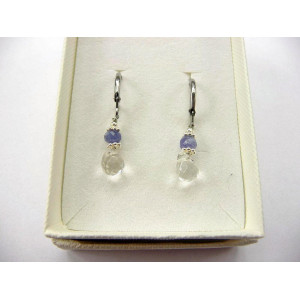 Earrings - Emerald Rock Crystal