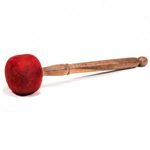 Pałka drewniana z filcem 220g - duże misy metalowe i gongi
