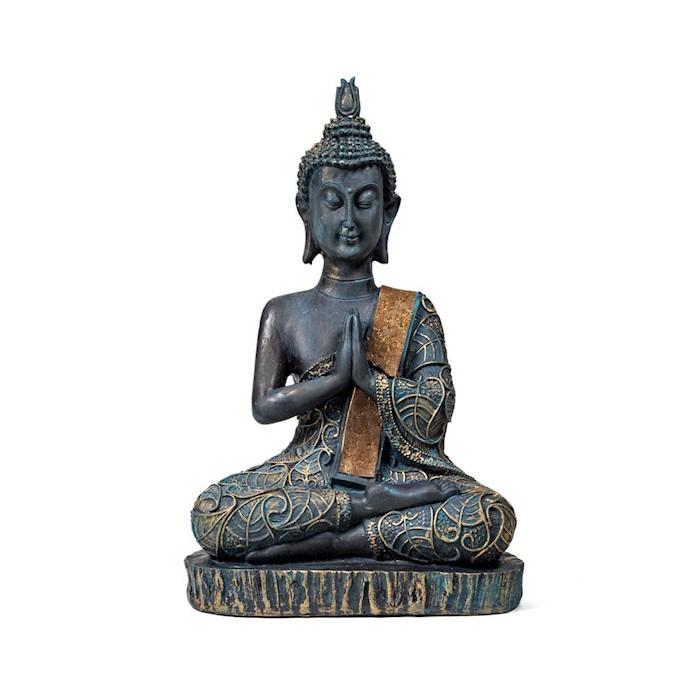 Medytujący Budda z Tajlandii 22cm