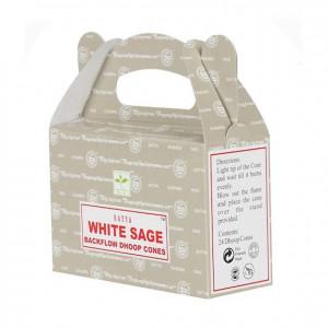 White Sage - Cofające Kadzidełka Stożkowe