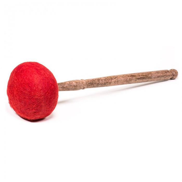 Pałka drewniana z filcem 340g - duże misy metalowe i gongi