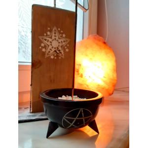 Steatytowe naczynie do kadzideł Pentagram