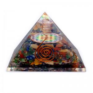 Czakry Kwiat Życia - Orgonit Piramida