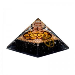 Turmalin OM- Orgonit Piramida