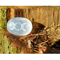 Selenit Potrójna Bogini 4cm Kamień Księżycowy