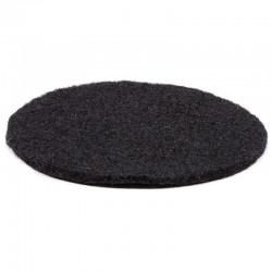 Okrągły Filc 10cm Podkładka pod Misy Czarna