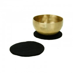Okrągły Filc 15cm Podkładka pod Misy Czarna