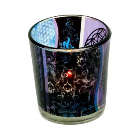 Świecznik na tealight - kwiat życia