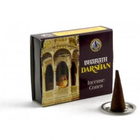 Incense Cones - Darshan - 12 pieces