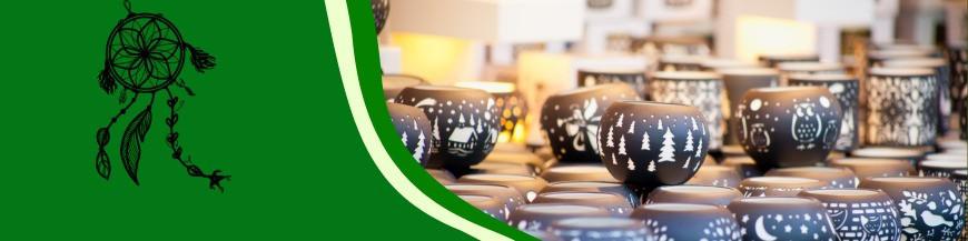 Świece naturalne i świeczniki